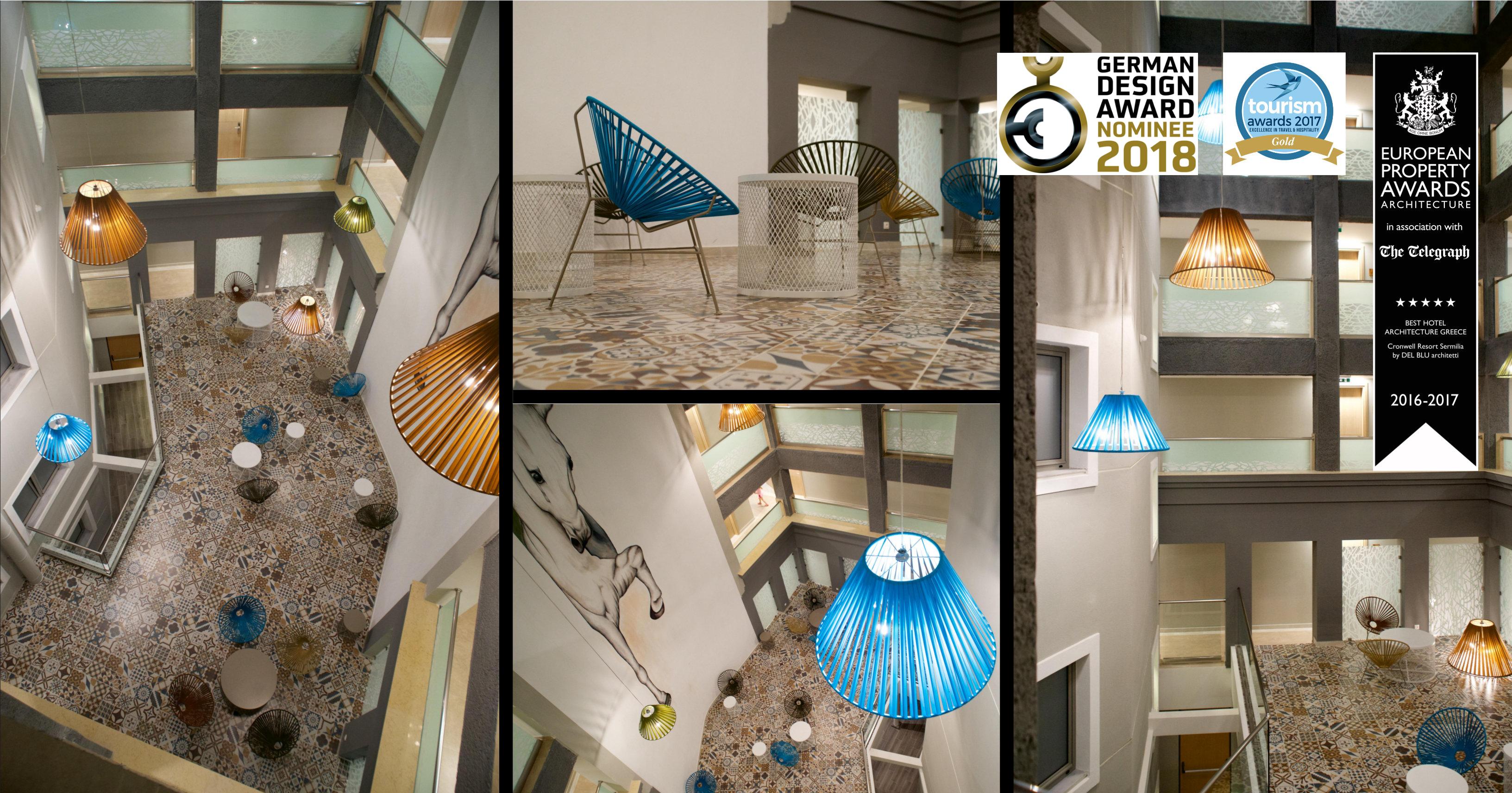 News del blu for Hotel design 2017